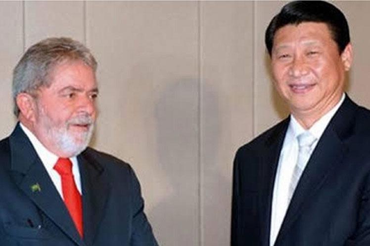 'El mundo volverá a respirar poco a poco un aire más humano y solidario. Enhorabuena, presidente Xi Jinping', refirió Lula. Foto: PL.