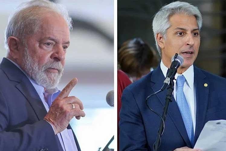 El programa de contactos de Lula en Brasilia continuará hasta el jueves. (Foto: PL)
