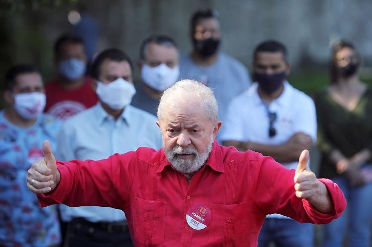 Lula recuperó sus derechos políticos en marzo. (Foto: PL)