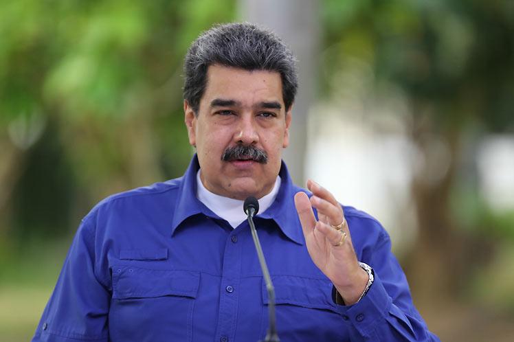 Durante una intervención televisiva, el mandatario reveló el pedido de Guaidó. (Foto: PL)