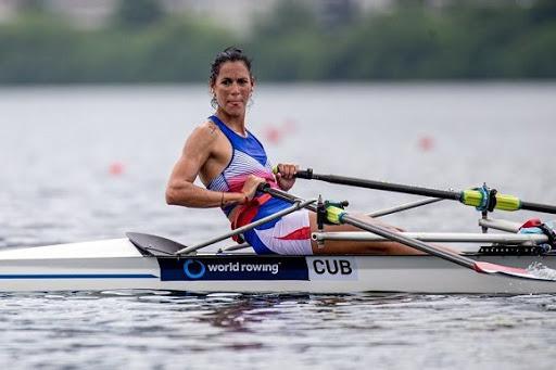 Milena Venegas es la única remera cubana clasificada para los Juegos Olímpicos de Tokio.