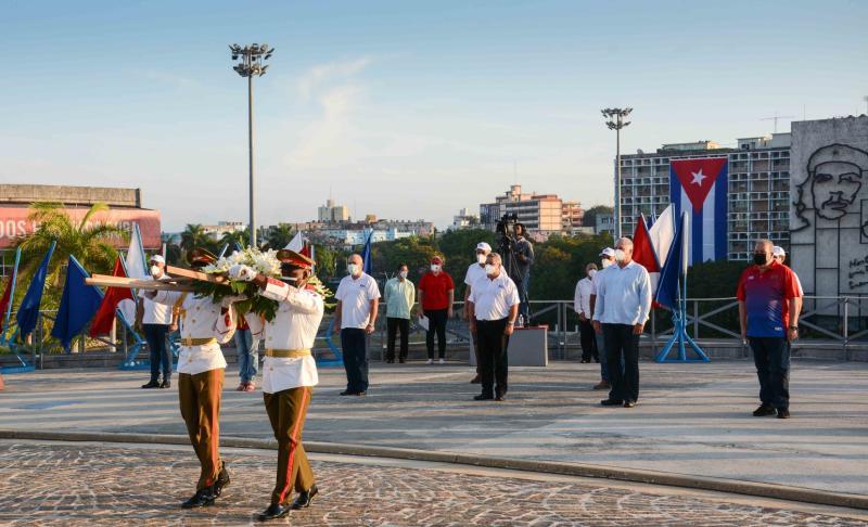 cuba, primero de mayo, dia internacional de los trabajadores, ctc, miguel diaz-canel