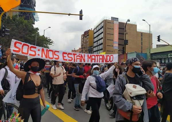 colombis, manifestaciones, muertes, protestas, ivan duque