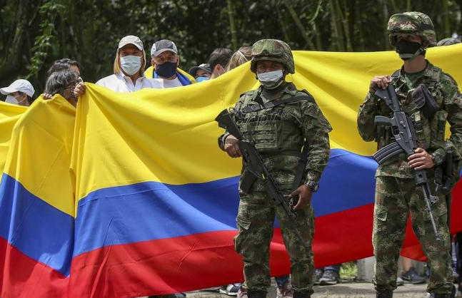 colombia, represion, ivan duque, manifestaciones, protestas