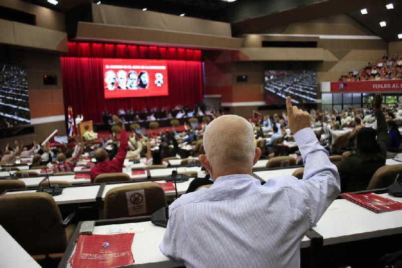 cuba, congreso del partido comunista de cuba, PCC, VIII Congreso del pcc