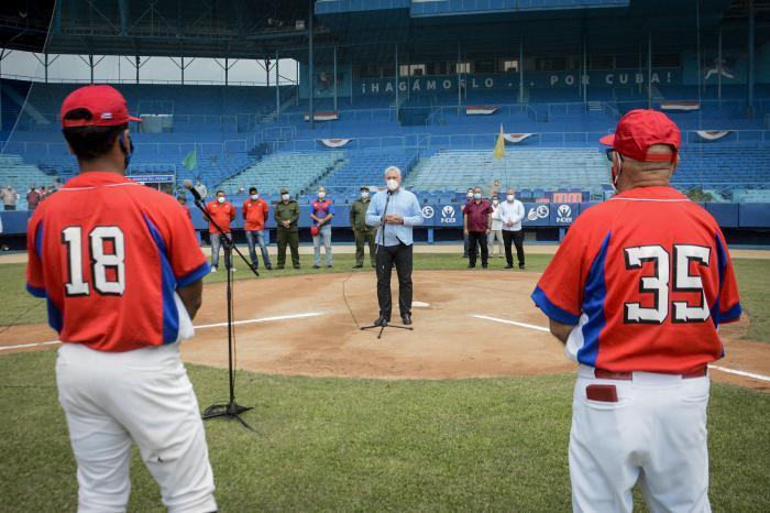 cuba, beisbol cubano, beisbol, miguel diaz-canel, olimpiadas