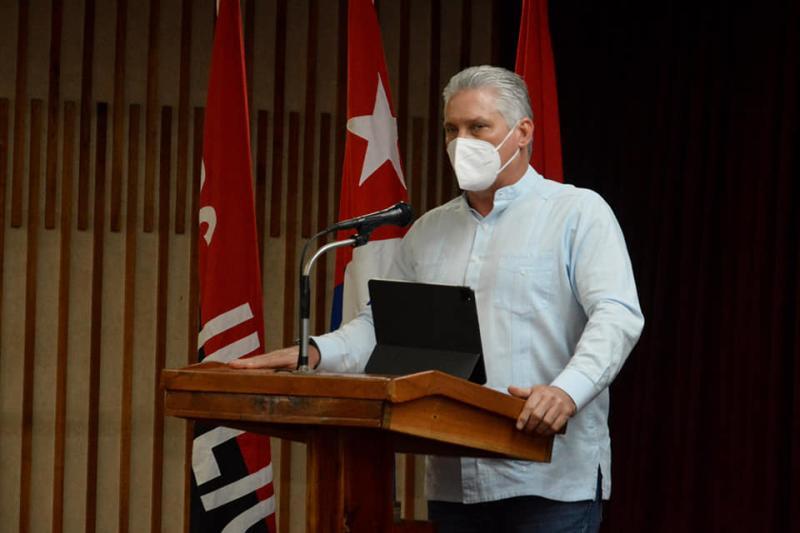cuba, pinar del rio, partido comunista de cuba, VIII congreso del pcc, miguel diaz-canel