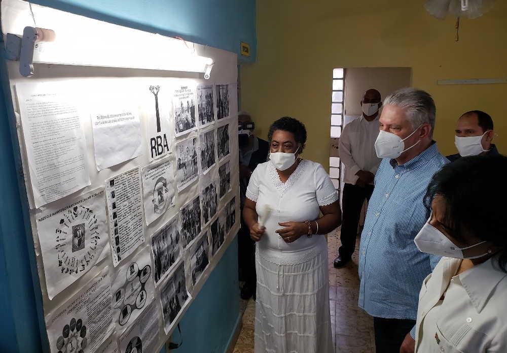 cuba, proyecto sociocultural comunitario, afrodescendientes, miguel diaz-canel