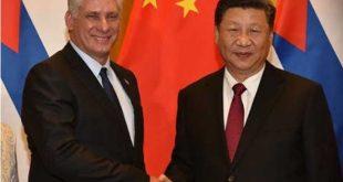 cuba, china, partido comunista de cuba, miguel diaz-canel, xi jinping