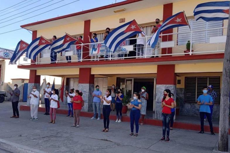 sancti spiritus, cuba, primero de mayo, dia internacional de los trabajadores, ctc