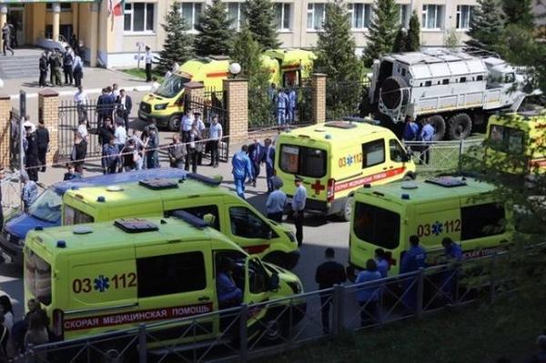 rusia, tiroteo, violencia, muertes, escuela