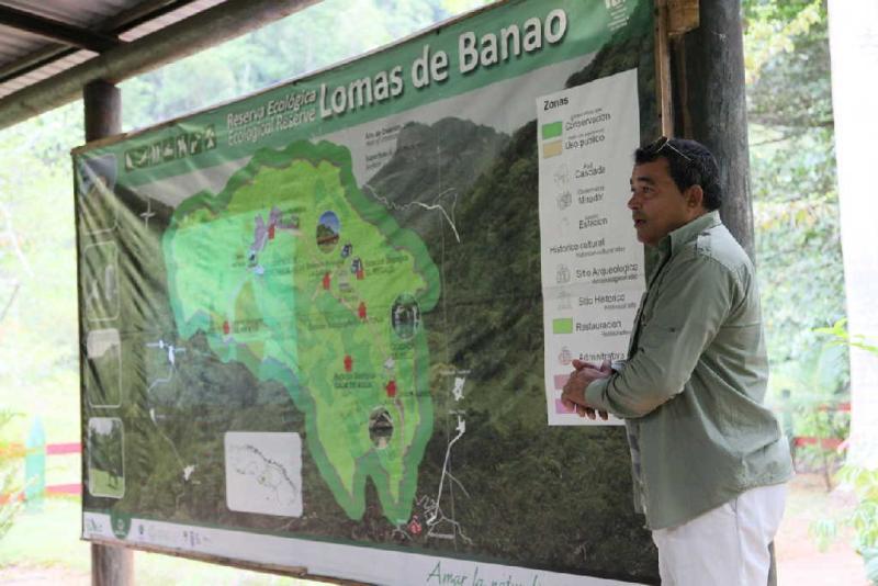 sancti spiritus, lomas de banao, flora y fauna, reserva ecologica