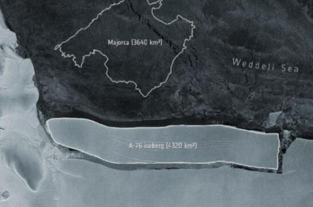 antartida, iceberg, cambio climatico,