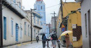 sancti spiritus, centro meteorologico provincial, tormenta local severa, lluvias, desastres naturales