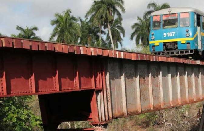 En un tiempo relativamente corto culminaron las acciones de reparación y acondicionamiento del ramal. (Foto: Cortesía Ferrocarriles)