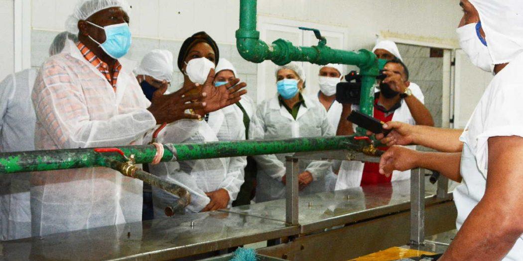 sancti spiritus, agricultura, salvador valdes mesa, produccion de alimentos, economia cubana, industria pesquera