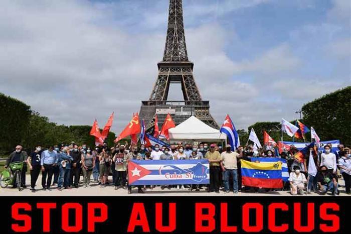 cuba, francia, bloqueo de eeuu a cuba, solidaridad con cuba