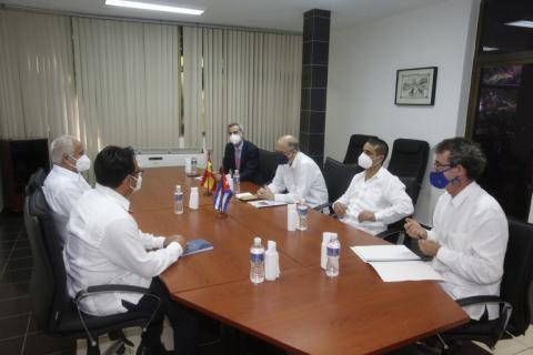 Durante el intercambio fue posible comprobar el buen estado de las relaciones bilaterales. (Foto: MINREX)
