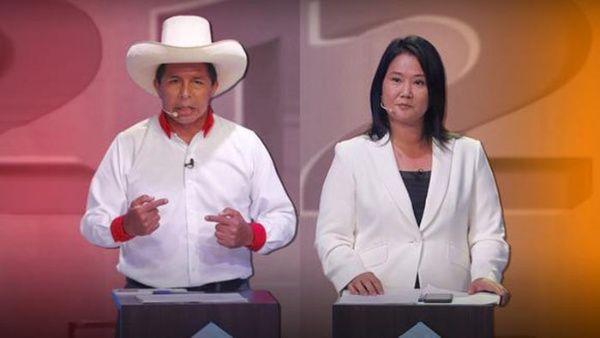 Luego de confirmarse el cierre de la votación, Castillo mantuvo su primer lugar con un margen a su favor de 44 mil 58 votos. (Foto: PL)