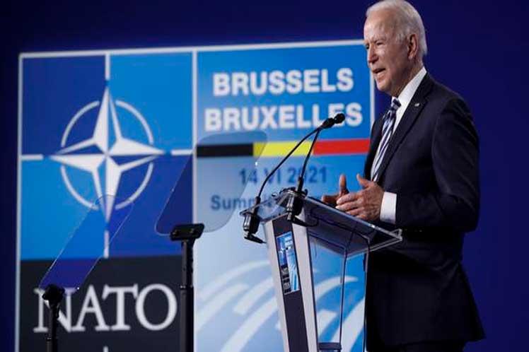 Biden dijo que en la reunión bilateral del miércoles puntualizará con su homólogo 'dónde están las líneas rojas'. (Foto: PL)