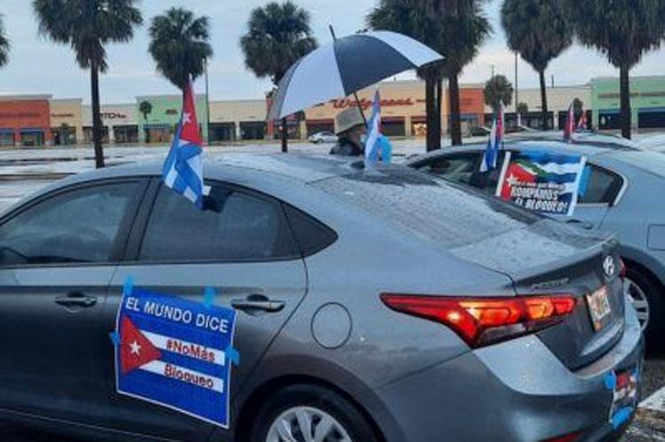 Estas caravanas y eventos ocurrirán previo a la votación en la Asamblea General de Naciones Unidas que pedirá el fin del bloqueo a Cuba. (Foto: PL)