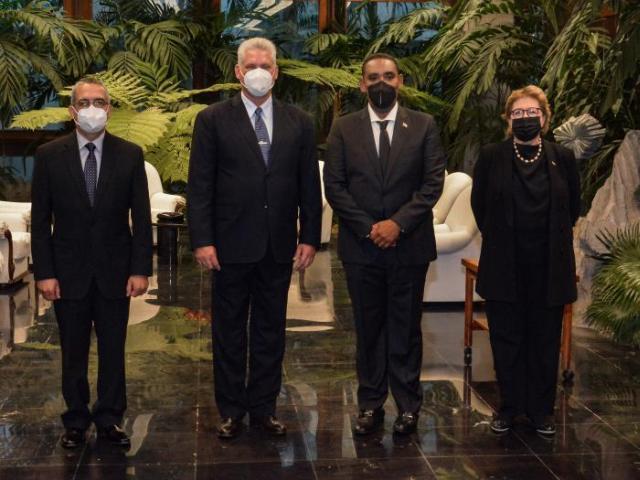 cuba, embajadores, cartas credenciales, miguel diaz-canel, relaciones diplomaticas
