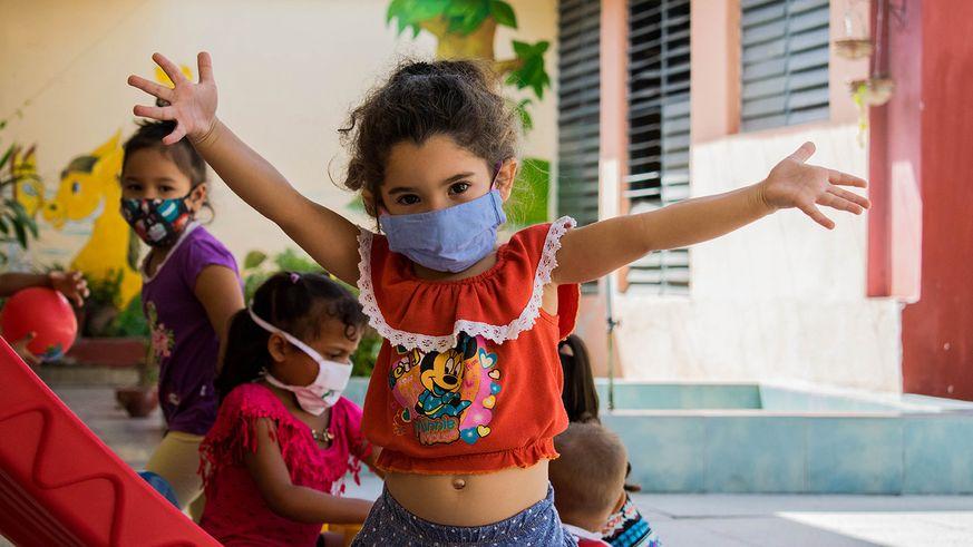 Esta es una variante de atención educativa, en la modalidad institucional de la primera infancia. (Foto: Radio Bayamo)