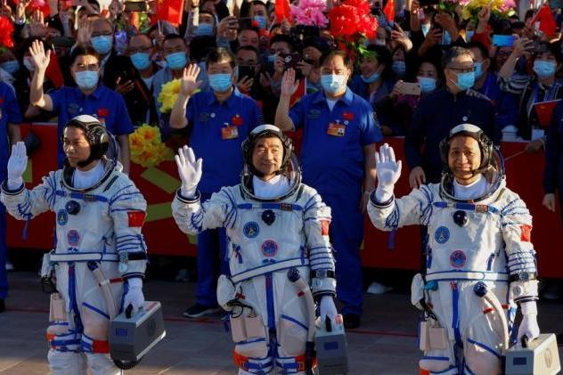 china, nave espacial, cosmonauta, vuelo espacial