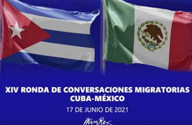 cuba, mexico, migracion, conversaciones migratorias, minrex