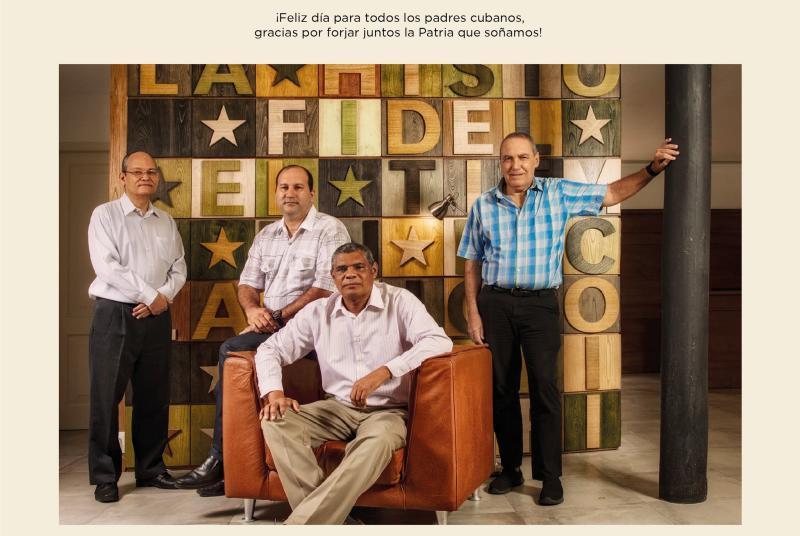 cuba, dia de los padres, miguel diaz-canel. raul castro, cientificos cubanos
