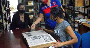 cuba, bibliotecarios, dia del bibliotecario cubano, miguel diaz-canel