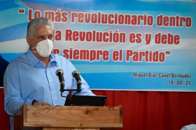 cuba, partido comunista de cuba, cienfuegos, congreso del pcc, miguel diaz-canel, VIII congreso del pcc
