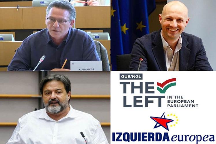 La postura de los impulsores de un debate sobre derechos humanos en Cuba bajo un guión de EE.UU. fue rechazada por eurodiputados y fuerzas políticas. (Foto: PL)