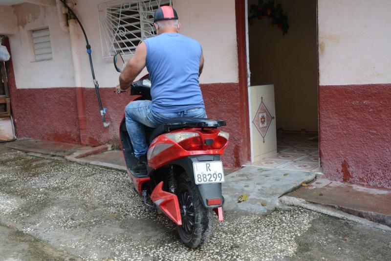 sancti spiritus, transporte, transito, motorinas, ciclos electricos, licencia operativa