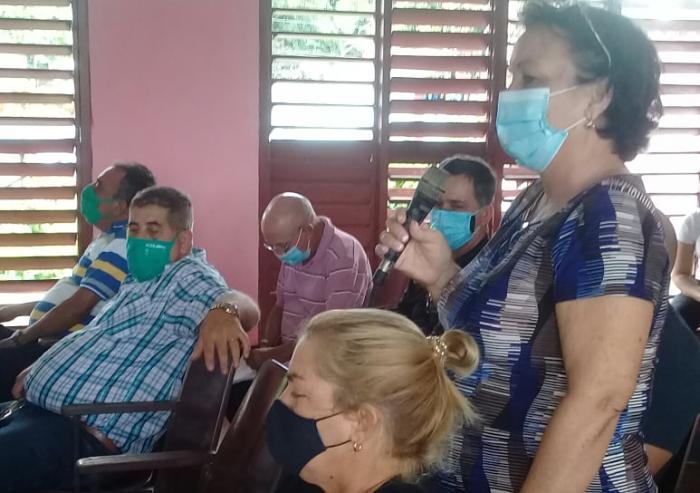 sancti spiritus, partido comunista de cuba, taguasco, comite municipal del partido, deivy perez martin