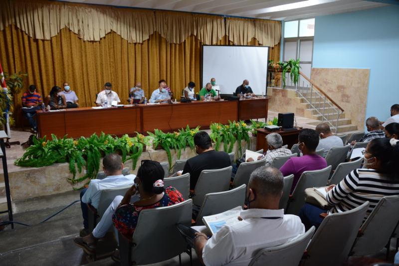 sancti spiritus, comite municipal del partido, covid-19, tarea ordenamiento