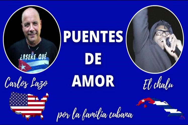El tema está escrito e interpretado por el profesor cubanoamericano Carlos Lazo y por el artista Chalu de Barcelona. Foto: PL.