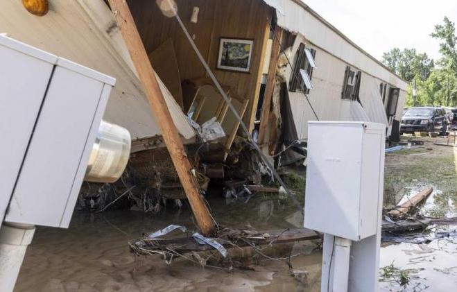 estados unidos, tormenta tropical, desastres naturales, muertes, niños, lluvias