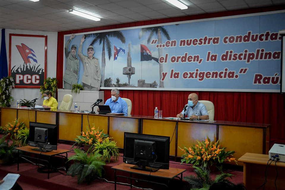 cuba, miguel diaz-canel, partido comunista de cuba, VIII congreso del pcc