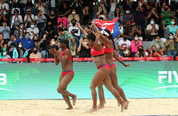 cuba, voleibol de playa, juegos olimpicos tokio 2021