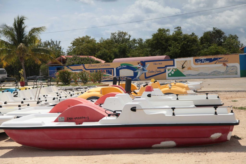 En la Marina Marlin de Trinidad están resguardadas decenas de embarcaciones pertenecientes al turismo.