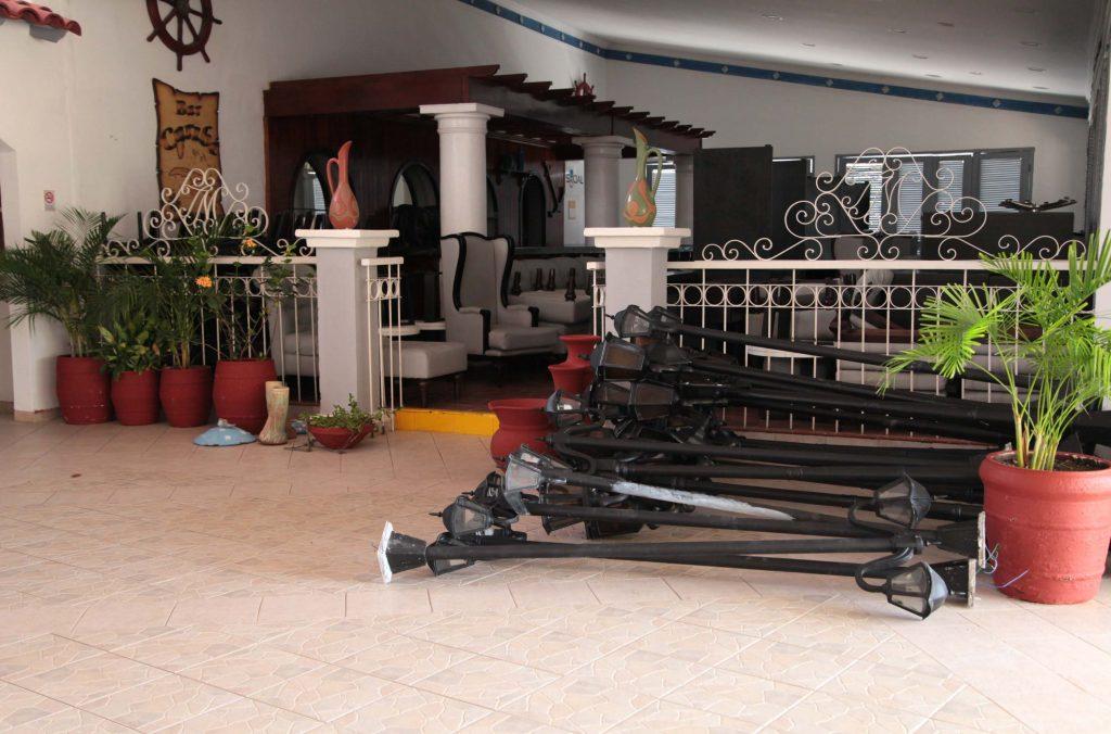 Las instalaciones del turismo en Trinidad pusieron a buen resguardo sus recursos ante la proximidad de la tormenta Tropical Elsa.