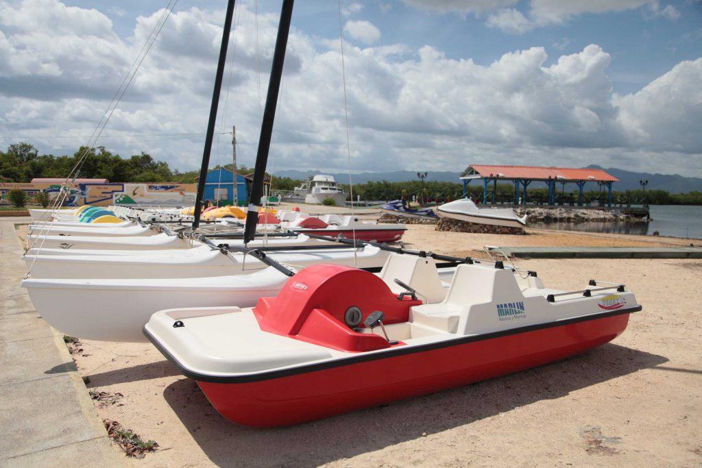 En la Marina Marlin de Trinidad están resguardadas decenas de embarcaciones pertenecientes al turismo y la pesca. (Fotos: Oscar Alfonso)