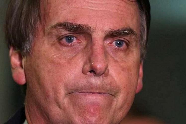 'No sé todavía si seré candidato', afirmó el exmilitar, que afronta un alto grado de impopularidad. (Foto: PL)