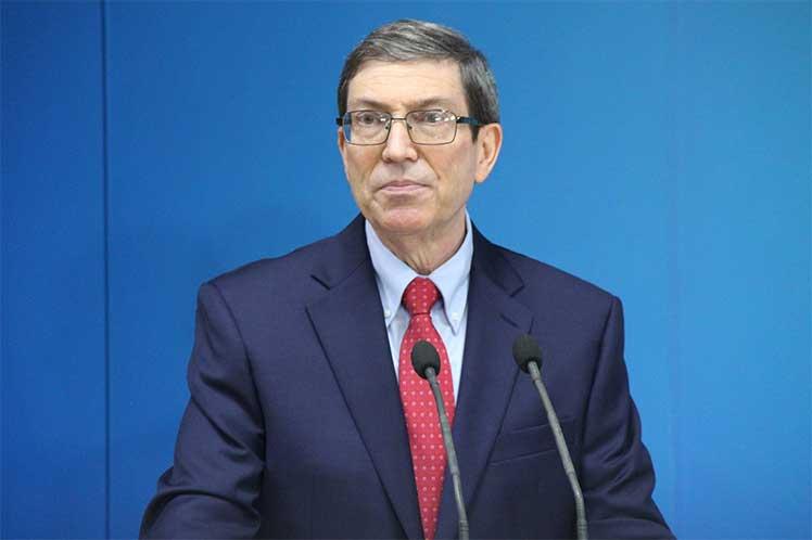 Bruno Rodríguez aseguró que Washington insiste en aplicar esa política en especial en estados de América Latina. (Foto: PL)