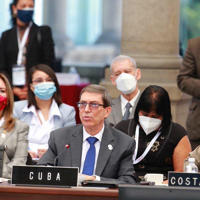 Bruno Rodríguez intervino en México en la XXI Reunión de Cancilleres de la Comunidad de Estados Latinoamericanos y Caribeños.