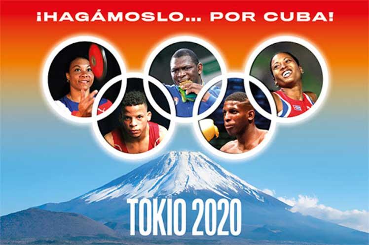 La comitiva olímpica cubana aspira tener una alta efectividad para alcanzar de cuatro a seis preseas de oro. (Foto: www.cuba.cu)