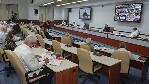 Consejo de Ministros en su sesión correspondiente al mes de junio de 2021.