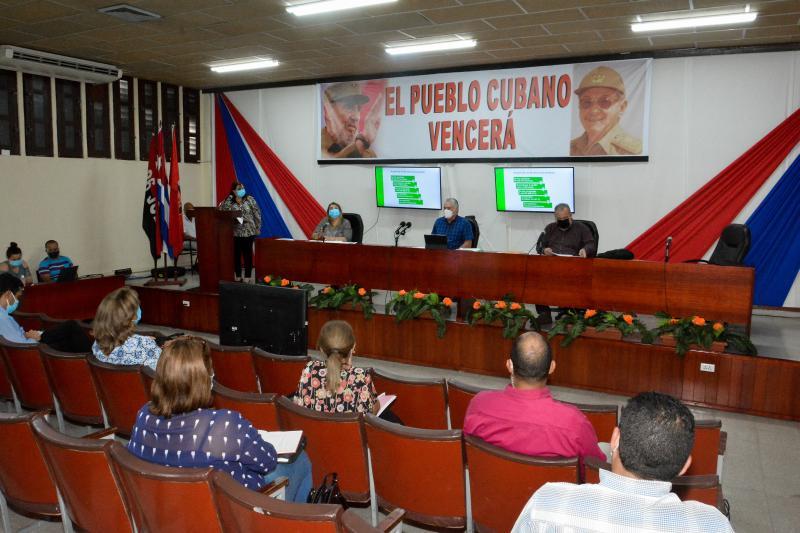 La gobernadora Teresita Romero informó que en la provincia están listos los sitios donde se desarrollará la intervención sanitaria con los candidatos vacunales cubanos (Foto: Estudios Revolución)