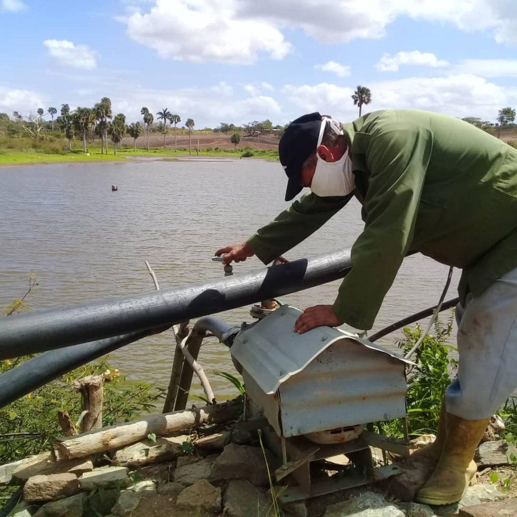 Especial atención se le presta a la seguridad de las presas y micropresas del sector dada la favorable situación de llenado. (Foto: José Luis Camellón / Escambray)